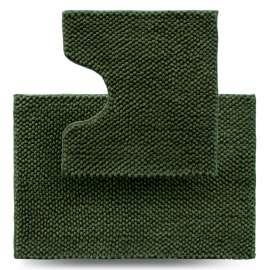 Набор ковриков Ананас, зеленый