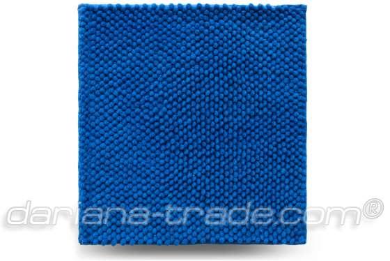Килимок Ананас, синій, 55x50 см