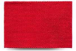 Коврик Ананас, красный, 55x80 см