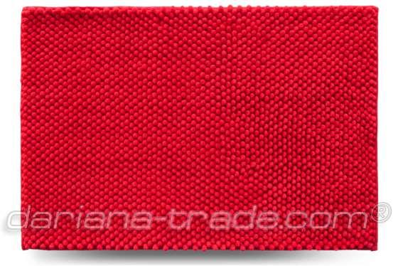Килимок Ананас, червоний, 55x80 см