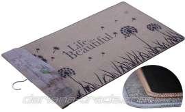 Универсальный коврик Лён «Beautiful», 60х90 см