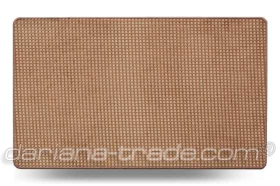 Універсальний килимок для дому Dual Ананас бежевий 40x60 см