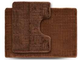 Набор ковриков ECONOM, Макраме, бежевый