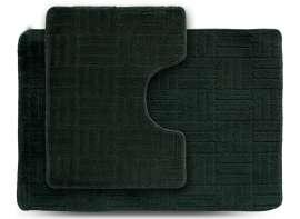 Набор ковриков ECONOM, Макраме, зелёный