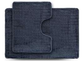 Набор ковриков ECONOM, Макраме, серый