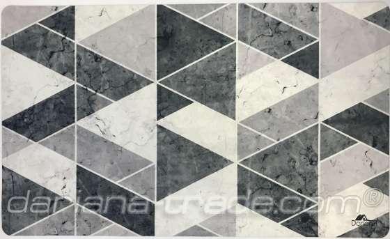 Універсальний килимок Принт Геометрія, 45x75 см