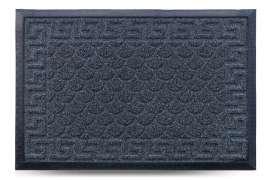 Коврик придверный Grass, чёрный, 40х60 см