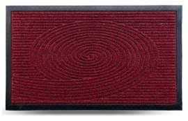 Коврик придверный Grass, красный, 45х75 см