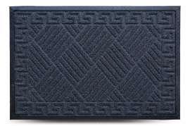 Коврик придверный Grass, чёрный, 60x90 см