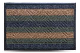 Коврик придверный Grass, комби зелёный, 60x90 см