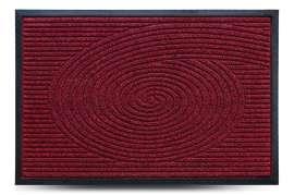 Коврик придверный Grass, красный, 60x90 см