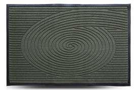 Коврик придверный Grass, зелёный, 80x120 см