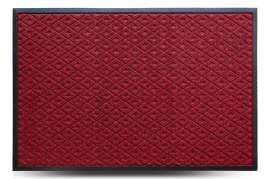 Коврик придверный Grass, красный, 80x120 см