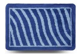 Коврик «Хвиля», синий, 40x60 см