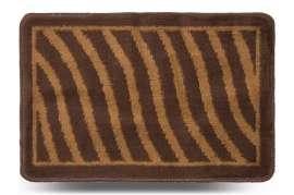 Коврик «Хвиля», коричневый, 40x60 см