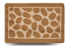 Коврик «Камни», бежевый, 40x60 см