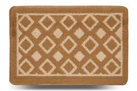 Коврик «Плитка», бежевый, 40x60 см