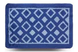 Коврик «Плитка», синий, 40x60 см