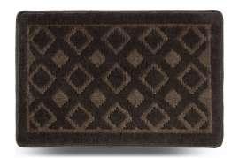 Коврик «Плитка», серый, 40x60 см
