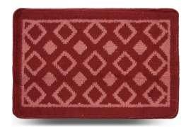 Коврик «Плитка», красный, 40x60 см