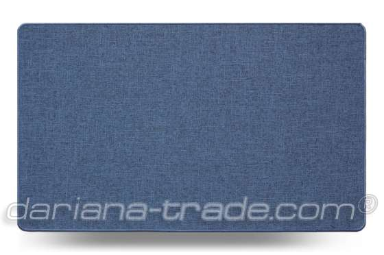Універсальний килимок для дому Льон MAX синій 45х75 см