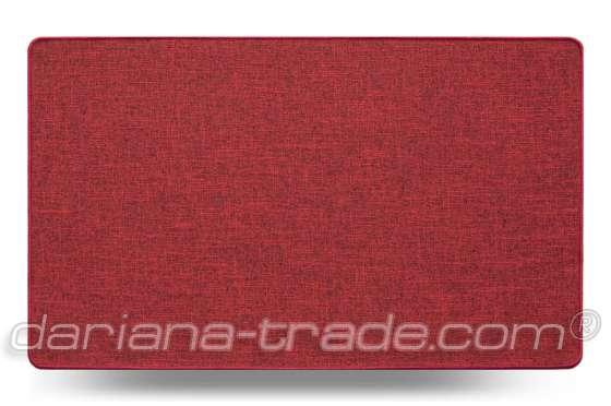 Універсальний килимок для дому Льон MAX червоний 45х75 см