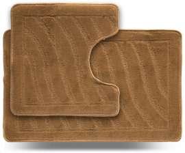 Набор ковриков LITTLE «Хвиля», бежевый