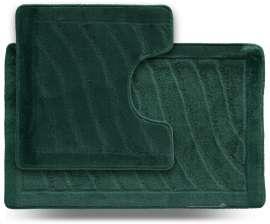 Набор ковриков LITTLE «Хвиля», зелёный