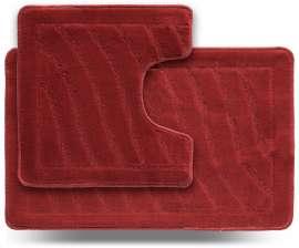 Набор ковриков LITTLE «Хвиля», красный