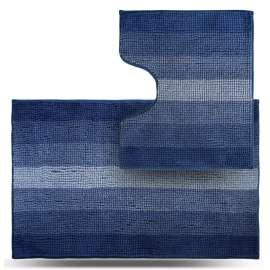 Набор ковриков Махрамат, синий ТС