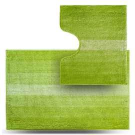 Набор ковриков Махрамат, салатовый ТС