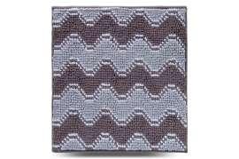 Коврик Волна, серый, 55х50 см