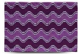 Коврик Волна, фиолетовый, 55x80 см