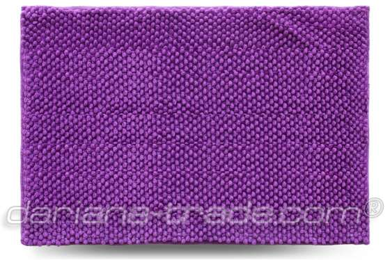 Килимок Ананас, фіолетовий, 55x80 см