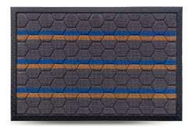 Коврик придверный Multicolor, цвет 7, 40х60 см