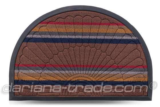 Килимок Multicolor, колір 1, 40х60 см, півколо