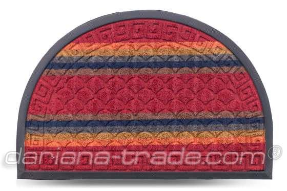 Килимок Multicolor, колір 2, 40х60 см, півколо