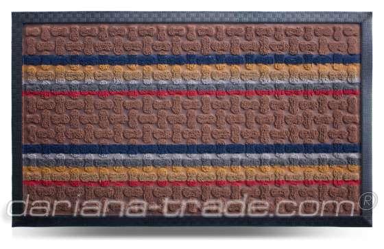 Коврик придверный Multicolor, цвет 1, 45x75 см