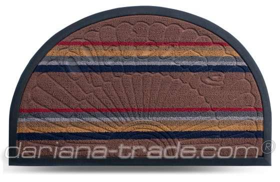 Килимок Multicolor, колір 1, 45х75 см, півколо