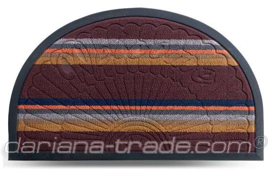 Килимок Multicolor, колір 3, 45х75 см, півколо