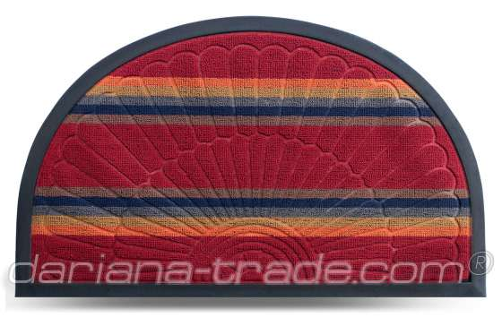 Килимок Multicolor, колір 2, 45х75 см, півколо