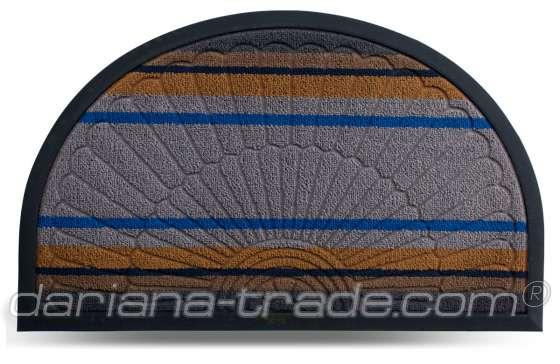 Килимок Multicolor, колір 6, 45х75 см, півколо