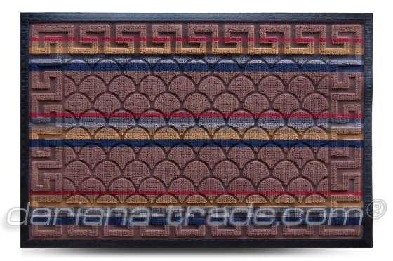 Коврик придверный Multicolor, цвет 1, 60х90 см