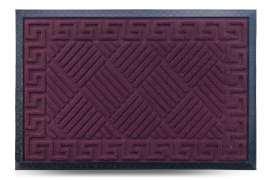 Коврик придверный МХ, бордо, 40x60 см
