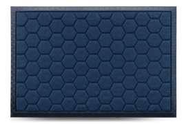 Коврик придверный МХ, синий, 40x60 см