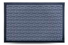 Коврик придверный МХ, серый, 40x60 см
