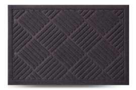 Придверный коврик Dariana MX без рамки, 60x40 см, серый