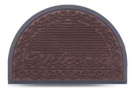 Коврик придверный MX-S, коричневый, 40х60 см