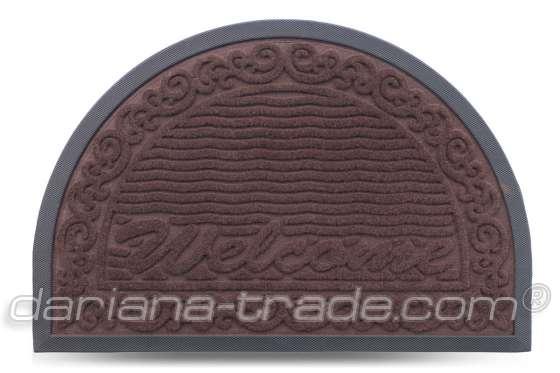 Килимок MX-S, коричневий, 40х60 см