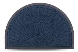 Коврик придверный MX-S, синий, 40х60 см
